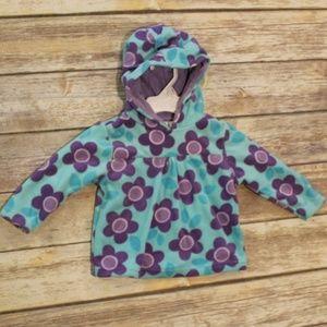 NWOT Koala Kids Fleece Pullover Purple & Teal 12M